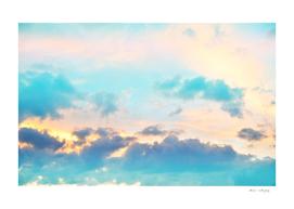 Unicorn Pastel Clouds #4 #decor #art