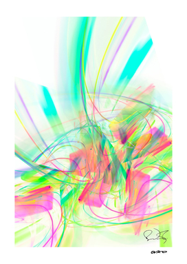 Fiesta - Colorful Tropical Abstract
