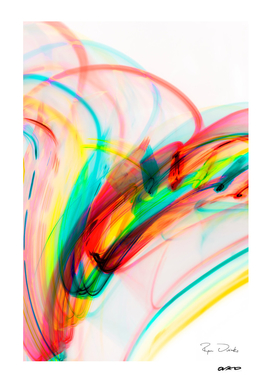 Festive Flow - Colorful Tropical Abstract