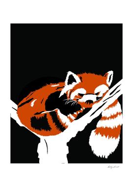 Angry Red Panda