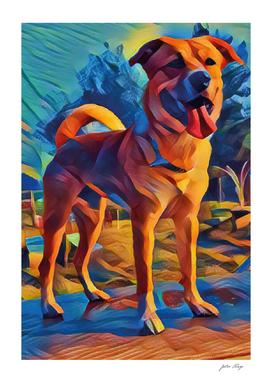My cubist Dog