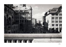 Business center of Zurich
