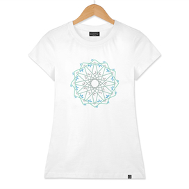 Floral Mandala in arabic style