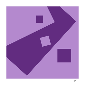 Space for living (purple)