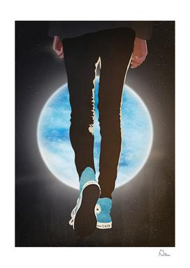 Space Walk In Converse