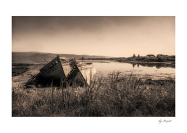 The Old Fishing boats