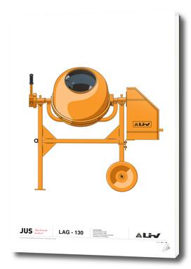 LIV Concrete mixer