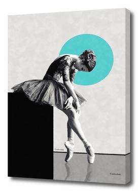 The dancer ...