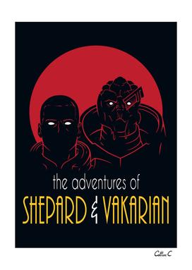 Adventures of BroShep and Vakarian