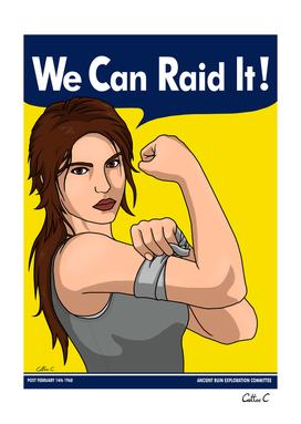 We can Raid it!