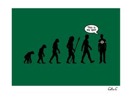 Sheldon's evolutionary spot