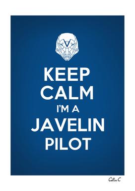 Keep calm I'm a Javelin Pilot