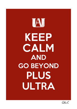 Keep calm and go beyond!