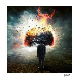 Planet Exploding by GEN Z