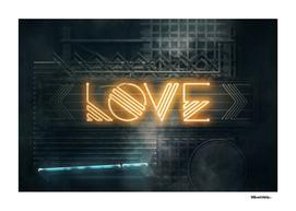 LOVE – Neon Retro