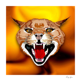 Cfracal evil cat