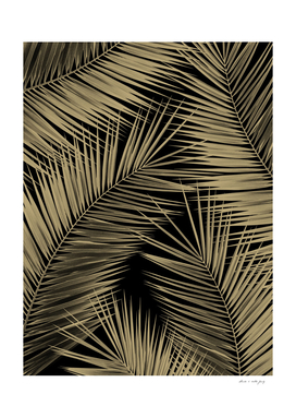 Palm Leaves - Gold Cali Vibes #7 #tropical #decor #art