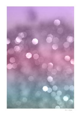 Unicorn Colored Bokeh #1 #pastel #shiny #decor #art