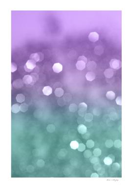 Mermaid Colored Bokeh #1 #shiny #decor #art