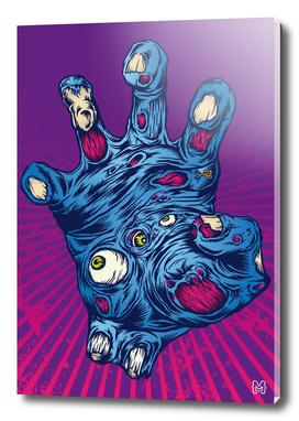 Zombie mutant hand