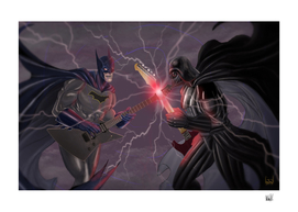 The Dark Knight at the dark side