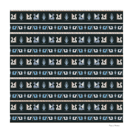 Geometrical seamless pattern in the Bulgarian style