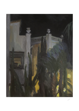Southern night (oil painting)