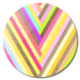 Lollipop Wood Stripes
