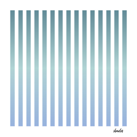 Soft pastel pinstripe