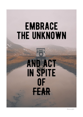 Motivational - Act In Spite Of Fear