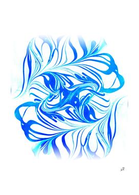 Original Marble Texture - Ocean Breeze