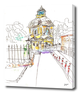 urban sketch church