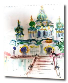 city  sketch church 2
