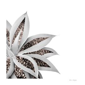 Agave Finesse Glitter Glam #1 #tropical #decor #art
