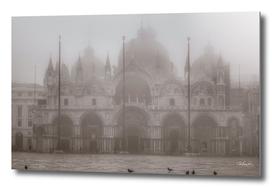 San Marcos Basilica at Piazza San Marcos, Venice, Ita