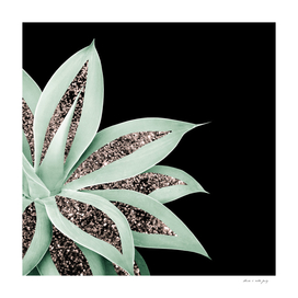Agave Finesse Glitter Glam #2 #tropical #decor #art