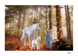 Autumn Fairy world
