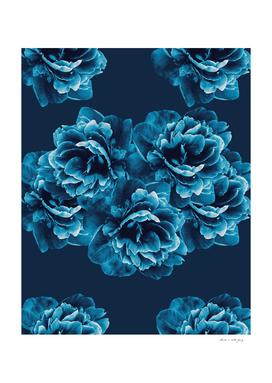 Blue Peony Flower Bouquet #1 #floral #decor #art