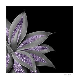 Agave Finesse Glitter Glam #3 #tropical #decor #art