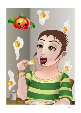 Eggs Rain