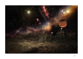 On a moon of Jupiter