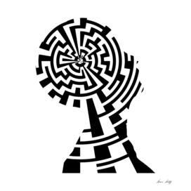 Woman Mind Maze