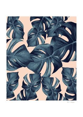 Monstera Leaves Pattern #6 #tropical #decor