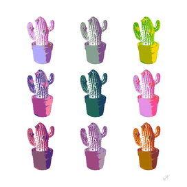 Cactus Pop Art Design