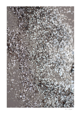 Sparkling SILVER Lady Glitter #1 #decor #art