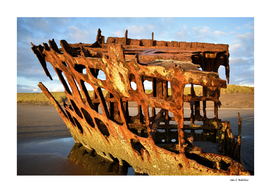 The wreck the Peter Iredale