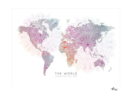 Worldmap Mandala