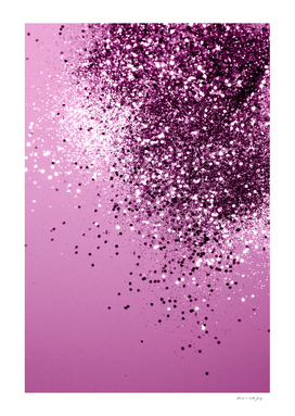 Sparkling Pink Lady Glitter #1 #shiny #decor #art
