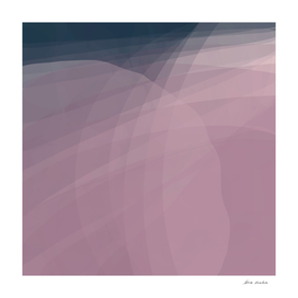 Blush Purple and Blue VIII