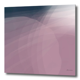 Blush Purple and Blue VIII